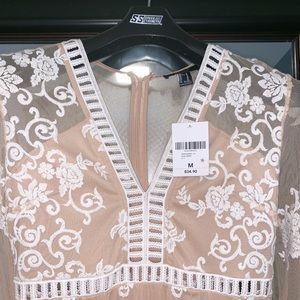 Forever 21 Dresses - Forever 21 nude dress